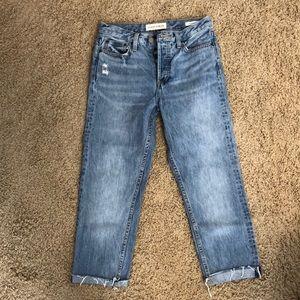 Aritzia Denim Forum Ex Boyfriend Jeans Size 25